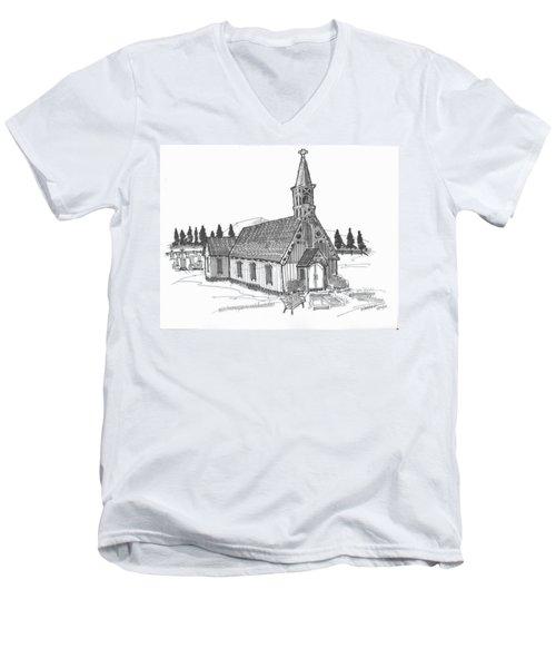 Clermont Chapel Men's V-Neck T-Shirt
