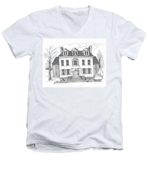 Clermont Historic Site Men's V-Neck T-Shirt