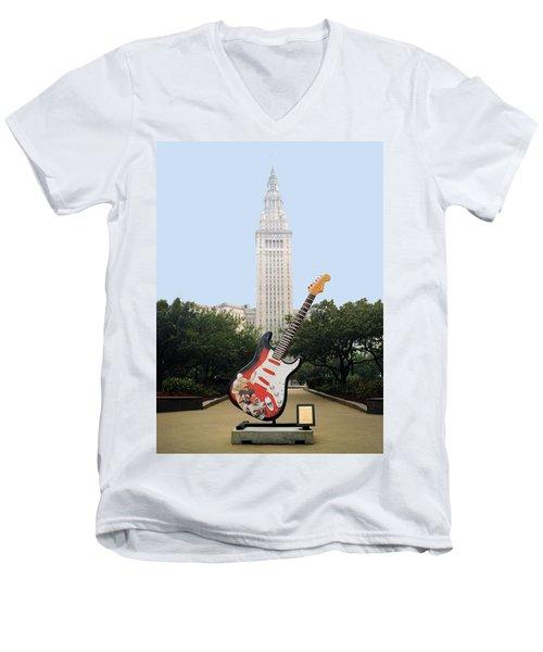 Cleveland Rocks Men's V-Neck T-Shirt