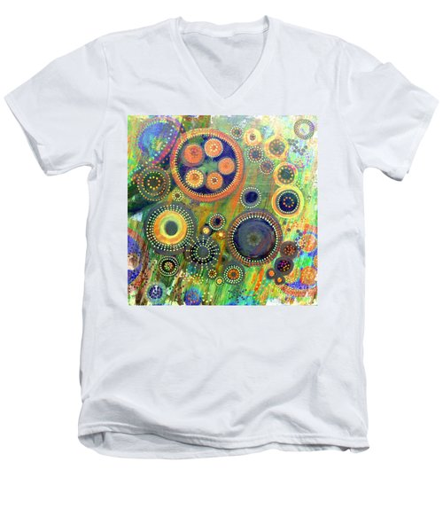 Clockwork Garden Men's V-Neck T-Shirt