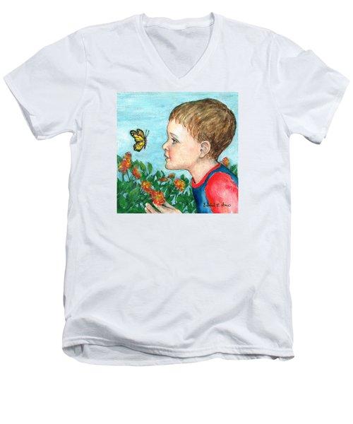 Close Encounter Men's V-Neck T-Shirt