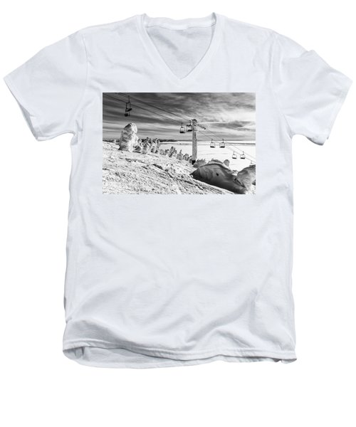 Cloud Lift Men's V-Neck T-Shirt