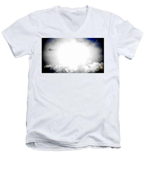 Cloudburst Sky Celestial Cloud Art Xl Resolution Men's V-Neck T-Shirt