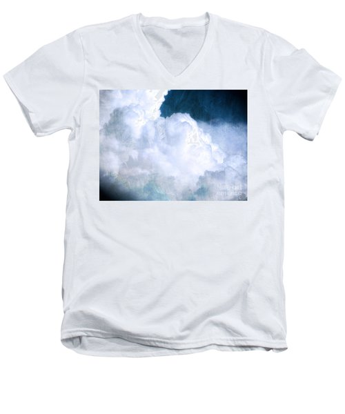 Clouds And Ice Men's V-Neck T-Shirt