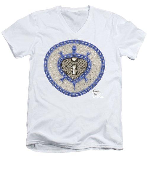 Coach Turtle Men's V-Neck T-Shirt