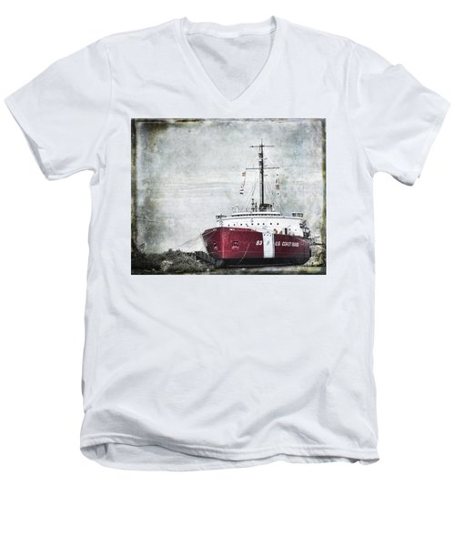 Coast Guard Men's V-Neck T-Shirt