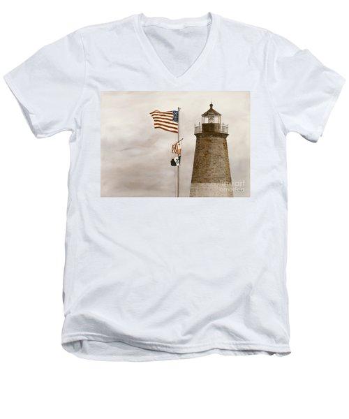 Coast Guard Men's V-Neck T-Shirt