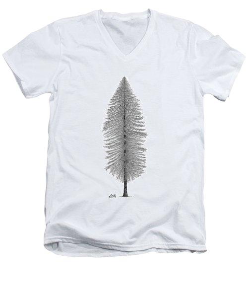Coastal Redwood Men's V-Neck T-Shirt