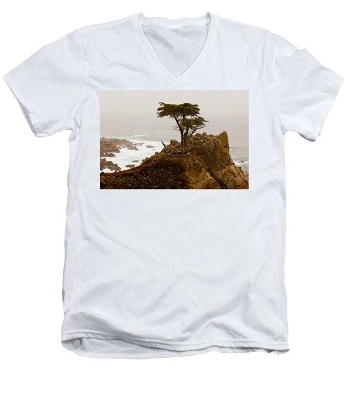 Coastline Cypress Men's V-Neck T-Shirt