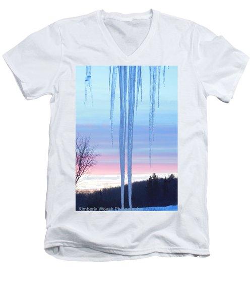Cold As Ice Men's V-Neck T-Shirt