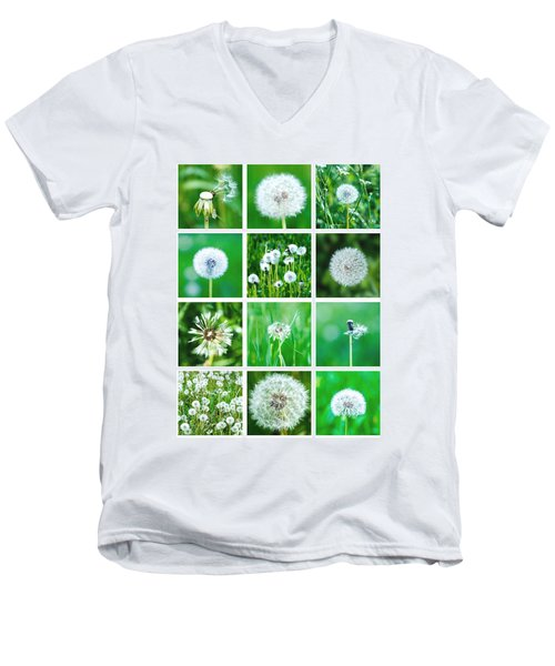 Collage June - Featured 3 Men's V-Neck T-Shirt