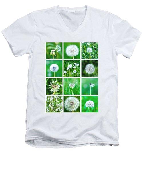 Collage June - Featured 3 Men's V-Neck T-Shirt