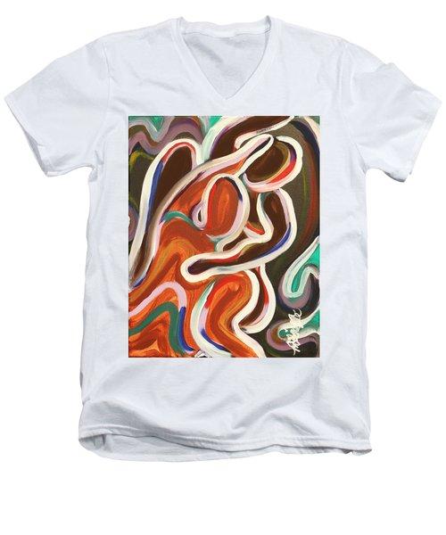 Colorful Evenings Men's V-Neck T-Shirt