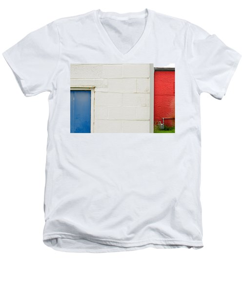 Men's V-Neck T-Shirt featuring the photograph Colors by Brian Duram