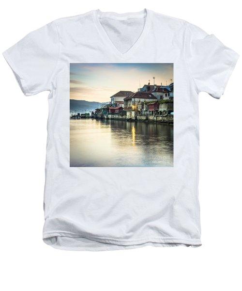 Combarro Pontevedra Galicia Spain Men's V-Neck T-Shirt