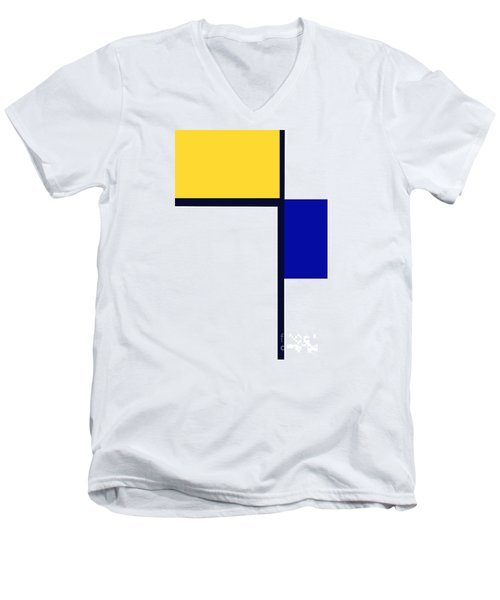 Men's V-Neck T-Shirt featuring the photograph Composition by Tina M Wenger