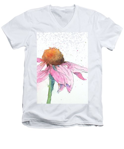 Coneflower 2 Men's V-Neck T-Shirt