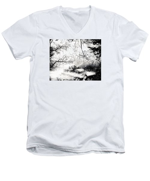 Men's V-Neck T-Shirt featuring the photograph Confusion Of The Senses by Hayato Matsumoto