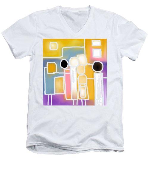 Connecting Men's V-Neck T-Shirt
