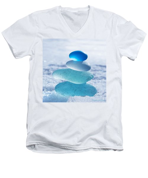 Cool Blues Men's V-Neck T-Shirt