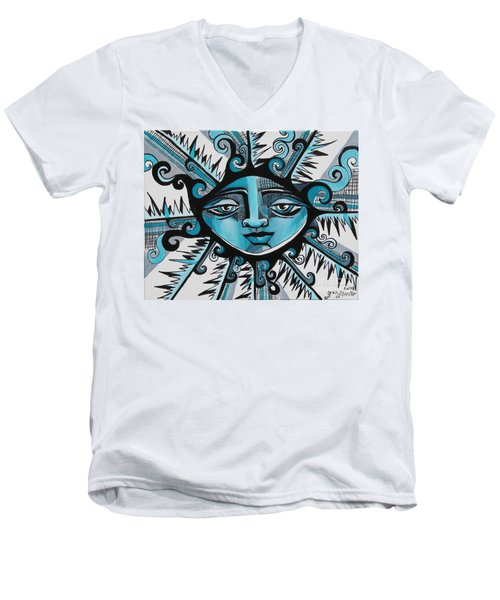 Cool Guy - Here Comes The Suns Men's V-Neck T-Shirt