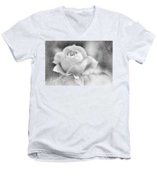Cool Rose Men's V-Neck T-Shirt