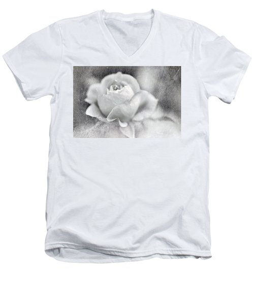 Cool Rose Men's V-Neck T-Shirt