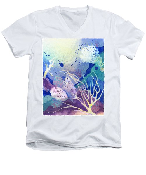 Coral Reef Dreams 4 Men's V-Neck T-Shirt