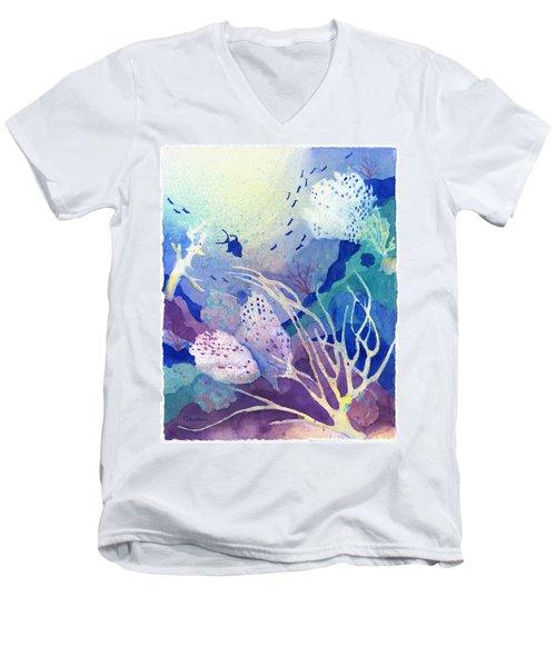Coral Reef Dreams 4 Men's V-Neck T-Shirt