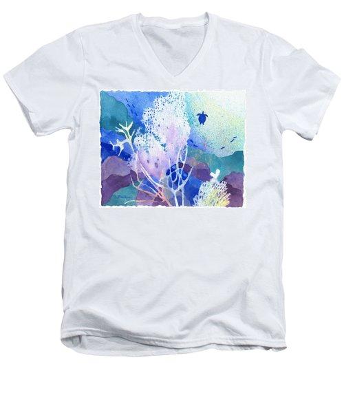 Coral Reef Dreams 5 Men's V-Neck T-Shirt