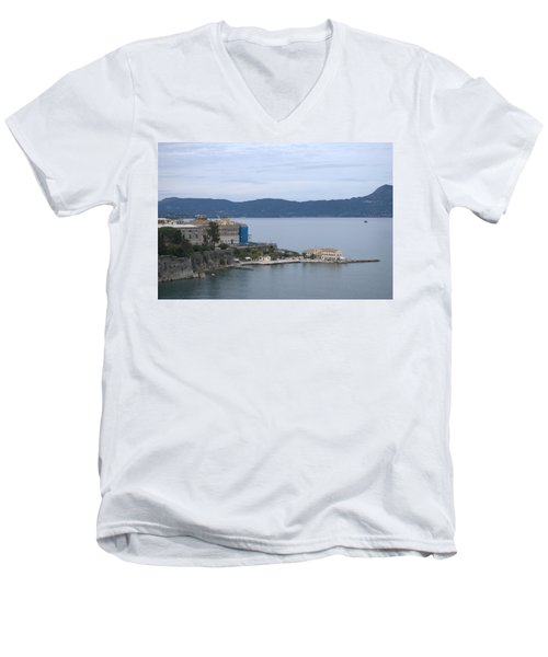 Corfu City 4 Men's V-Neck T-Shirt