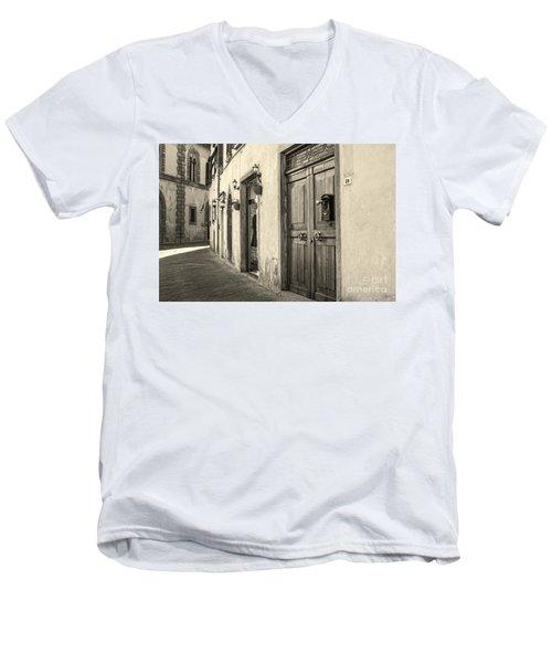 Corner Of Volterra Men's V-Neck T-Shirt