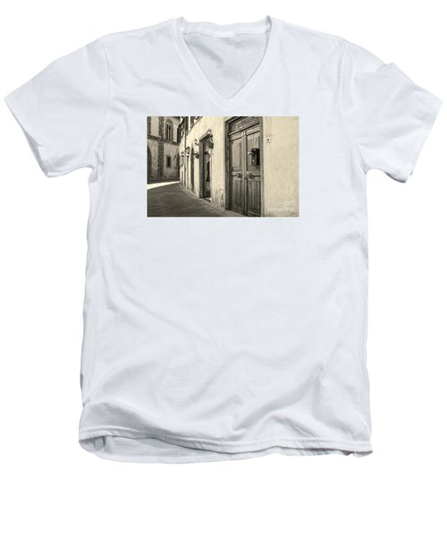 Corner Of Volterra Men's V-Neck T-Shirt