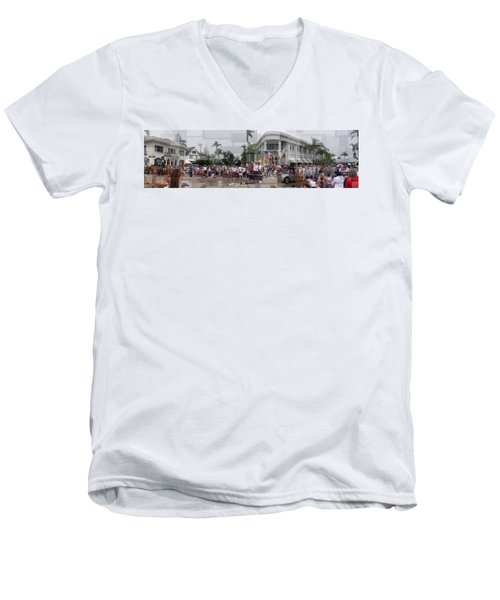 Coronado Fourth Of July Parade Men's V-Neck T-Shirt