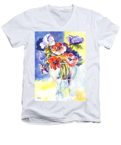Cosmos I Men's V-Neck T-Shirt