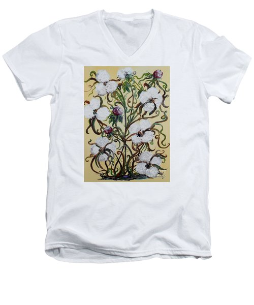 Cotton #1 - King Cotton Men's V-Neck T-Shirt