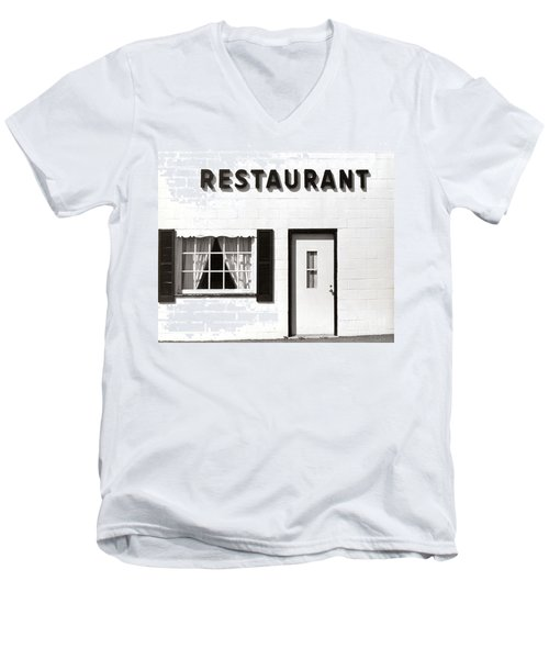 Country Restaurant Men's V-Neck T-Shirt