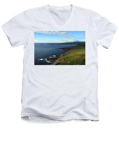 County Clare Coast Men's V-Neck T-Shirt
