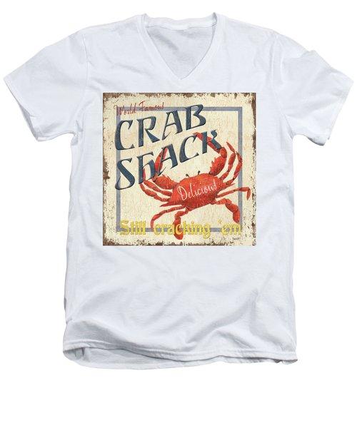 Crab Shack Men's V-Neck T-Shirt