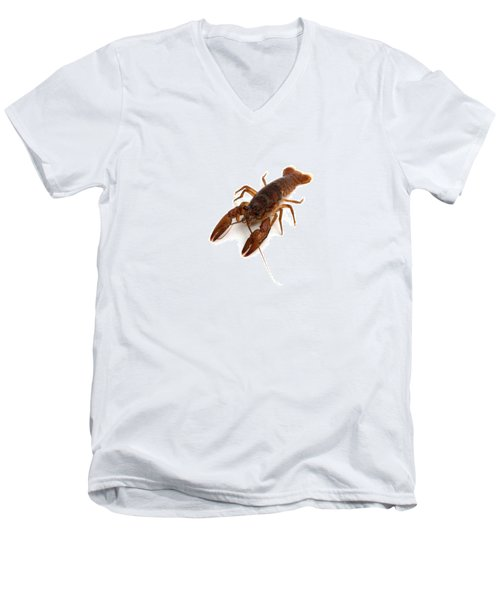 Crawfish Men's V-Neck T-Shirt