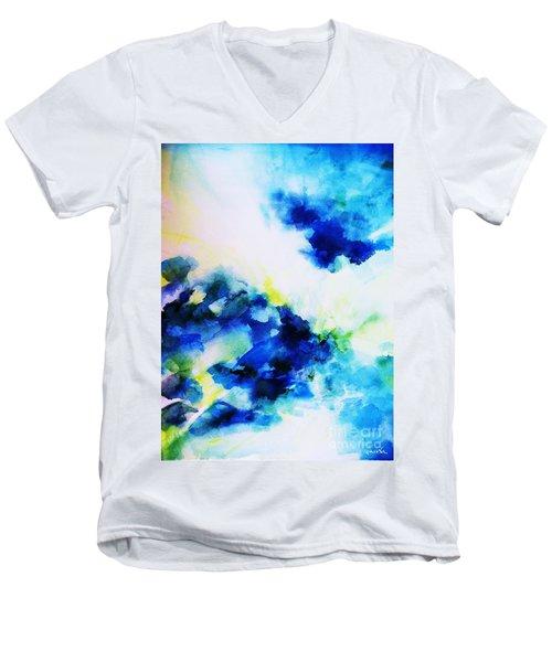 Creative Forces  Men's V-Neck T-Shirt