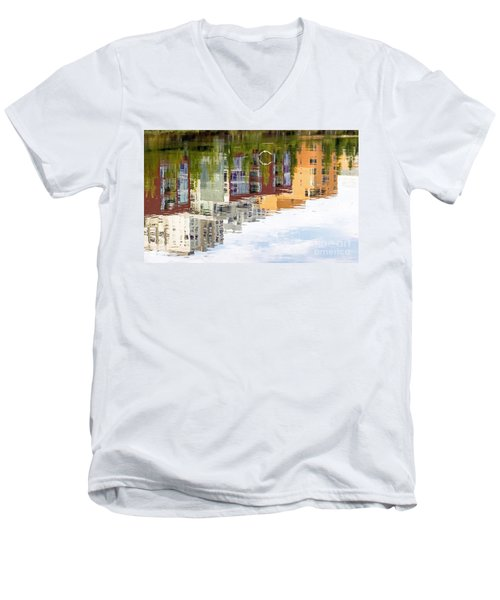 Creekside Reflections Men's V-Neck T-Shirt