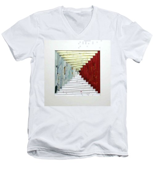 Crooked Staircase Men's V-Neck T-Shirt