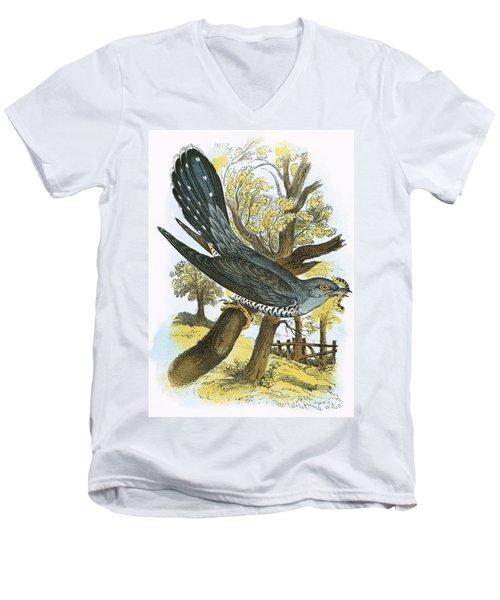 Cuckoo Men's V-Neck T-Shirt by English School