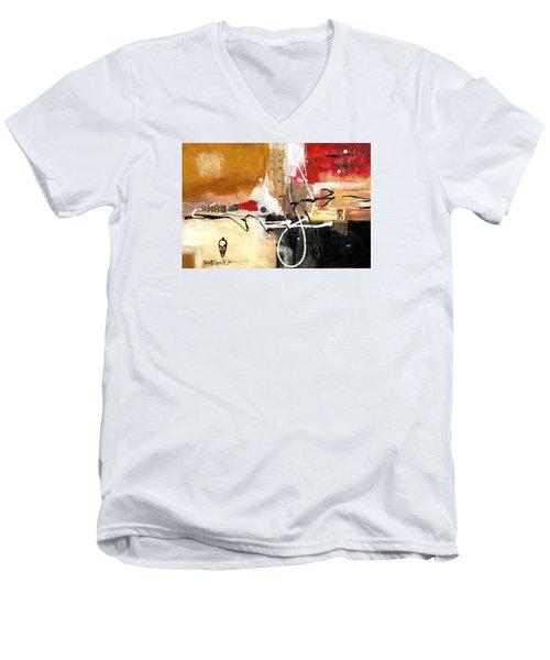 Cultural Abstractions - Hattie Mcdaniels Men's V-Neck T-Shirt