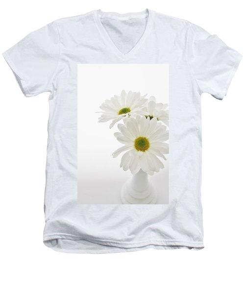 Daisies For You Men's V-Neck T-Shirt