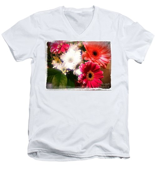 Daisy January Men's V-Neck T-Shirt