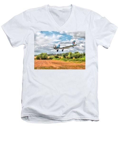 Dakota - Cleared To Land Men's V-Neck T-Shirt