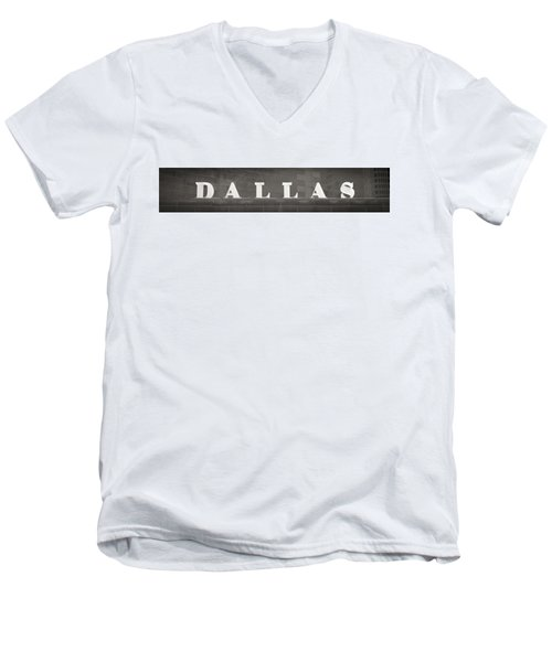 Dallas Men's V-Neck T-Shirt