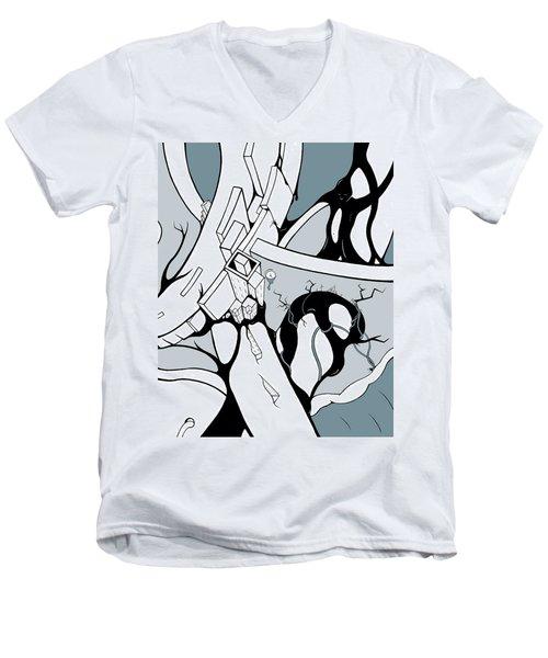 Dammed Men's V-Neck T-Shirt